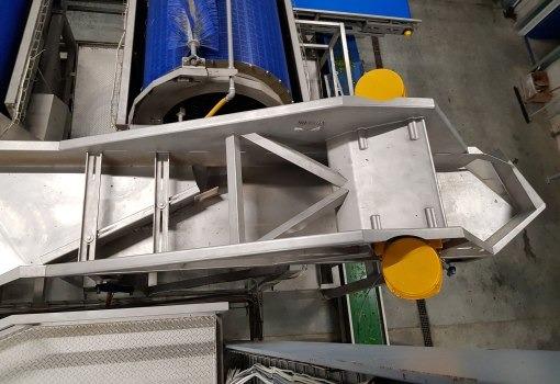 Dopravníky, Elevátory, Priemyselné vibrátory, Conveyors, Elevators, Industrial Vibrators, Vibration system for food industry, flat conveyors