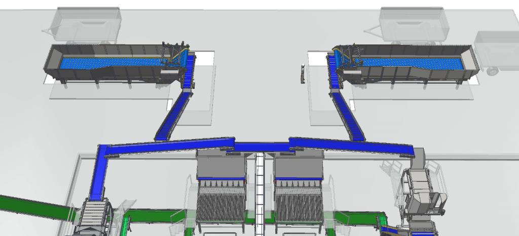 Dopravníky, Elevátory, Priemyselné vibrátory, Conveyors, Elevators, Industrial Vibrators, Vibration system for food industry, flat conveyors, transport system of line